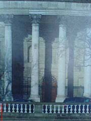 Four Courts Portico- After