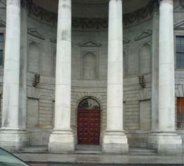 Four Courts Portico- Before