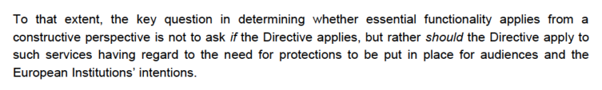 Extract from BAI Proposal